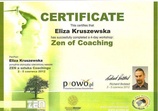 zen a sztuka coachingu